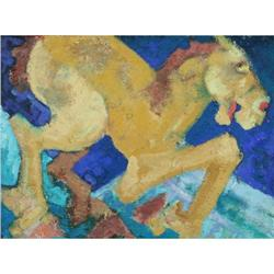Modern Contemporary Oil painting abstract Horse#2378574