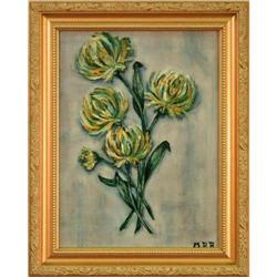 """Floral Cluster"""" flowers impressionist painting #2378577"""