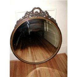 Italian Burl Mirror Gold Mounts C.1900 #2378622