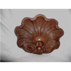 Apprentice Carving Walnut Oyster Shell France #2378629