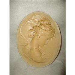 French Chalk Plaque Mythological Goddess Early #2378641