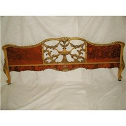 Burl Wall Hanging Mantel Bed C.1920 #2378644