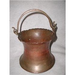 French Copper Pot Hand Made 19th Century #2378648