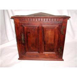 English Corner Cupboard Oak 19th Century #2378649