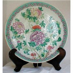 CHINESE FAMILLE ROSE CHARGER 13.5 GUANGXU (Qing#2379074