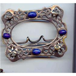 SALE C and R Signed Belt buckle  Art Deco Style#2379100