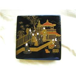 MEIJI PERIOD JAPANESE  LACQUER  WRITING BOX #2379143