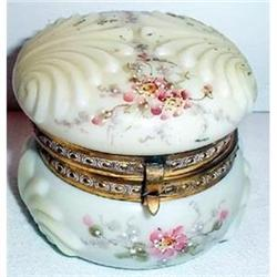 Hand Painted Shell Shaped Wavecrest Box #2379153