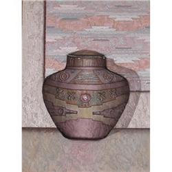 Luis Mazorra, Old Mexican Jar,  Emb. Etching. #2379415
