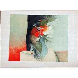Claude Gaveau, Cherries  Signed Litho #2008028 #2379424
