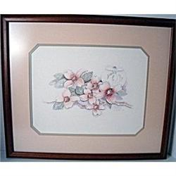 M. Bertrand signed  & numbered watercolor #2379451