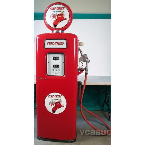 texaco fire chief quoteriequot gas pump