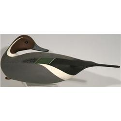 J.P. Hand duck decoy