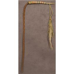 Northern Plains Indian quirt antler handle