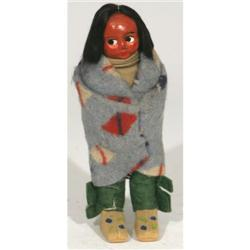 Indian Skookum doll