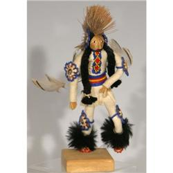 Southern Plains Indian beaded doll