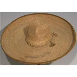 Mexican Pigalle straw sombrero