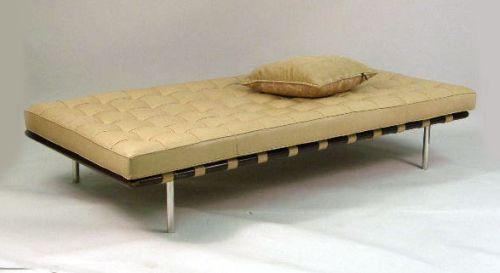 A Ludwig Mies Van Der Rohe Barcelona Daybed By Knoll