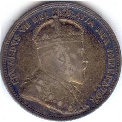 25 Cents 1903, VF-30. Darkly toned coin.