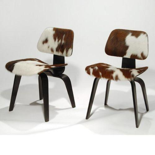 sc 1 st  iCollector.com & Charles and Ray Eames DCW chairs set of 4 USA c. 1950