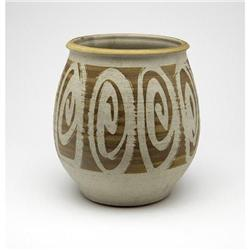 Wishon Harrell - Glazed ceramic vase