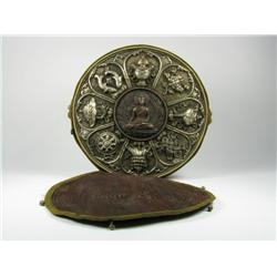 AN EARLY TIBETAN GAU BOX, c.early 20th Centur