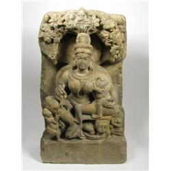 A SUPERB JAIN SANDSTONE SCULPTURE, c.11-13th