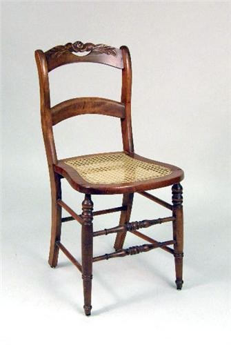 ... Image 2 : SIX VICTORIAN CANE SEAT SIDE CHAIRS ...