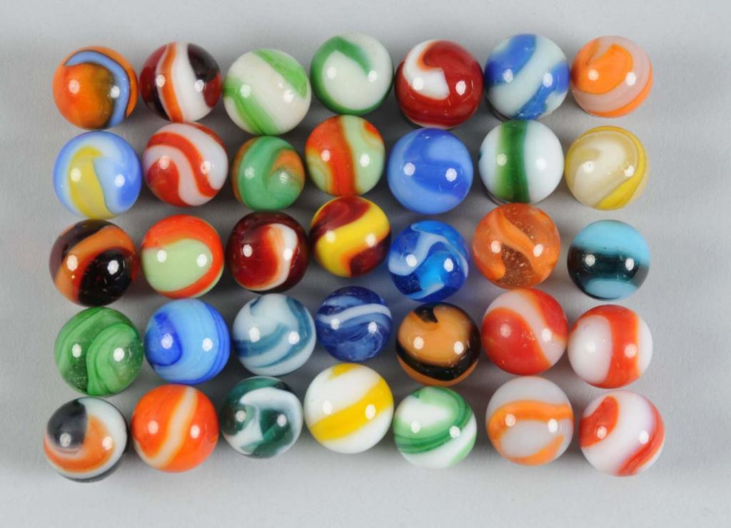 machine made marbles