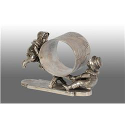 Kate Greenway Kids Figural Napkin Ring.