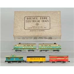 Marx No. 9554 Diesel Freight Train Set.