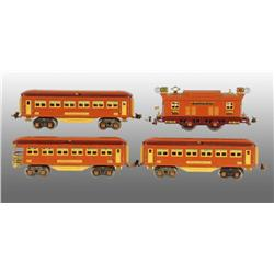 Lionel No. 138 O-Gauge Passenger Set.