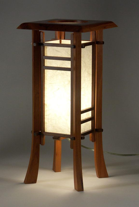 Image 1 : CHERRY STREET JAPANESE STYLE TABLE LAMP ...