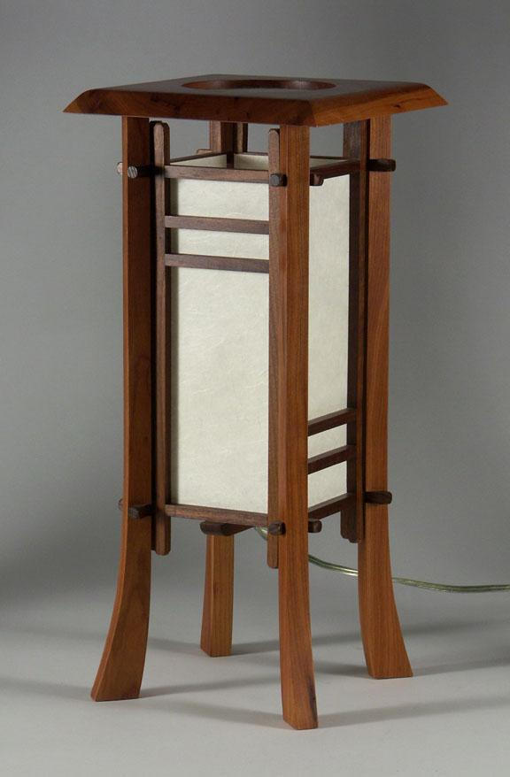 CHERRY STREET JAPANESE STYLE TABLE LAMP