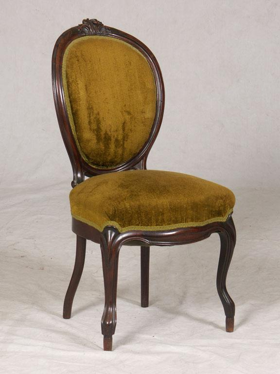 Oval Back Side Chair #22 - Image 1 : VICTORIAN OVAL BACK SIDE CHAIR