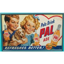 "Pal Ade Advertisement Framed - 32"" x 20"""