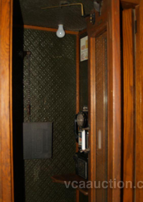 image 2 old wood western electric standup telephone booth w