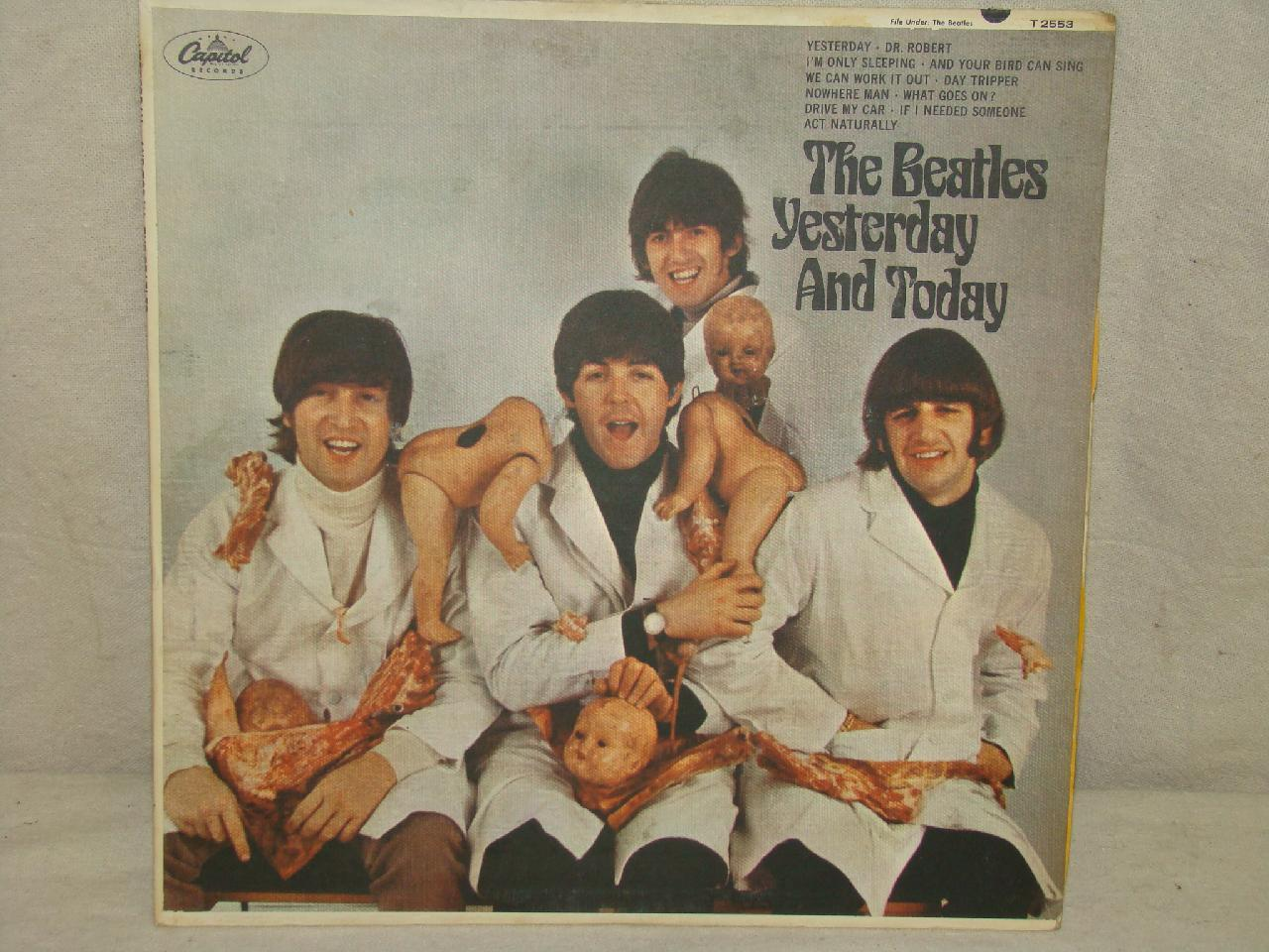 beatles yesterday and today 1st state. Black Bedroom Furniture Sets. Home Design Ideas