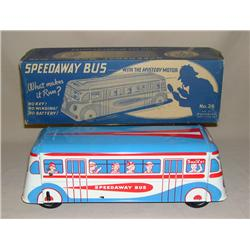 Wolverine Speedway Bus w/ Mystery Motor in Original Box