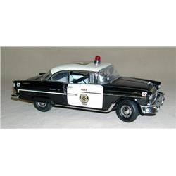 Franklin Mint 1955 Chevy Police Car