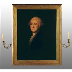 Portrait of Washington After Gilbert Stuart.