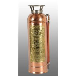 Brass & Copper Fire Extinguisher Body.