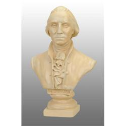 Commemorative Plaster Bust of Washington.