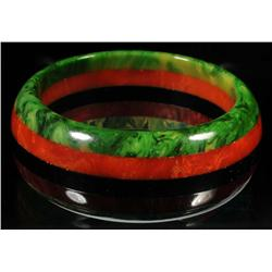 Bakelite Multi-Colored Bracelet.