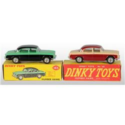 Lot of 2: Dinky Toys Die-Cast Automobiles.