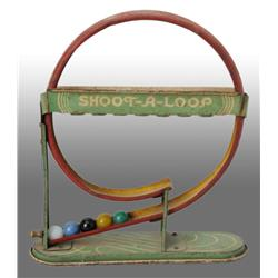 Tin Marble Shoot-A-Loop Toy.