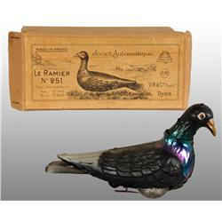 Early Tin Pigeon Wind-Up Toy.