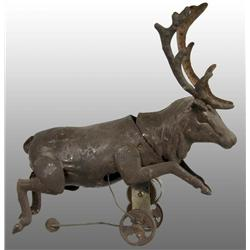 Tin Stag Wind-Up Toy.