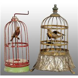 Lot of 2: Hand-Painted Birdcage Toys.