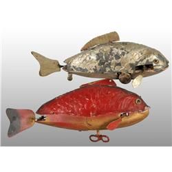 Lot of 2: Fish Wind-Up Toys.